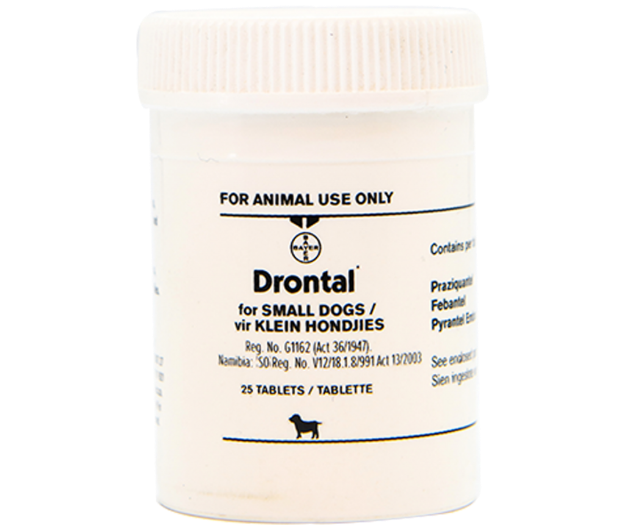 Picture of Drontal Small Dogs Tabs