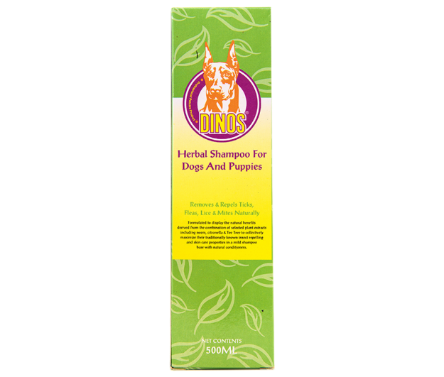 Picture of Dinos Herbal Shampoo 500 ml