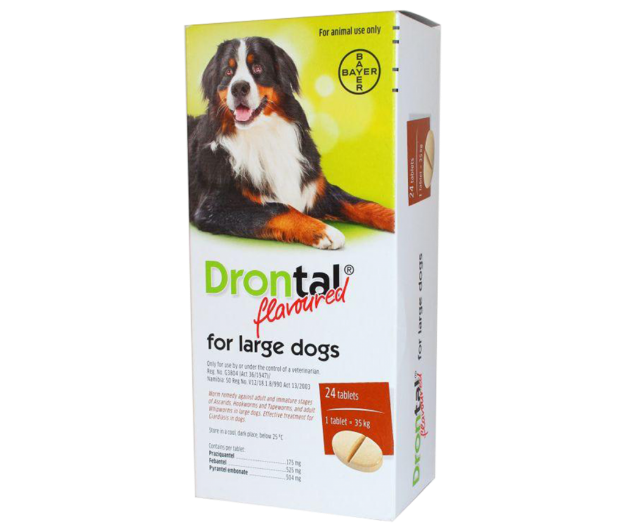 Picture of Drontal Large Dogs Tabs