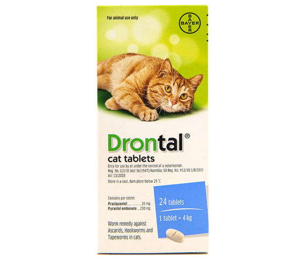 Picture of Drontal Cat Tabs