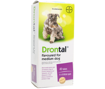 Picture of Drontal Med Dogs Tabs