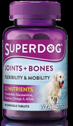 Picture of Vitabiotics Vitavet Super Dog Joints & Bones 60 Chewable Tabs