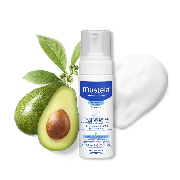 Picture of Mustela Shampooing Mousse Nourisson