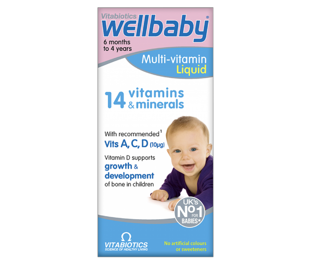 Picture of Vitabiotics Wellbaby Syrup 150 ml