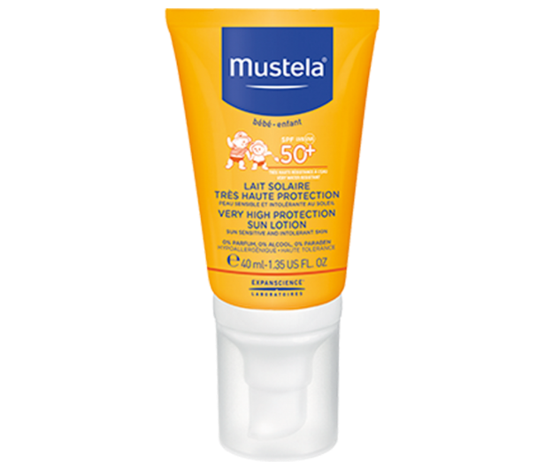 Picture of Mustela Lait Solaire Special Visage SPF50 40 ml