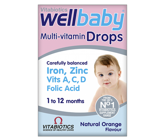 Picture of Vitabiotics Wellbaby Drops 30 ml