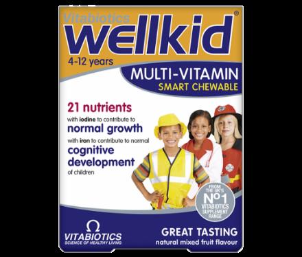 Picture of Vitabiotics Wellkids Chewable
