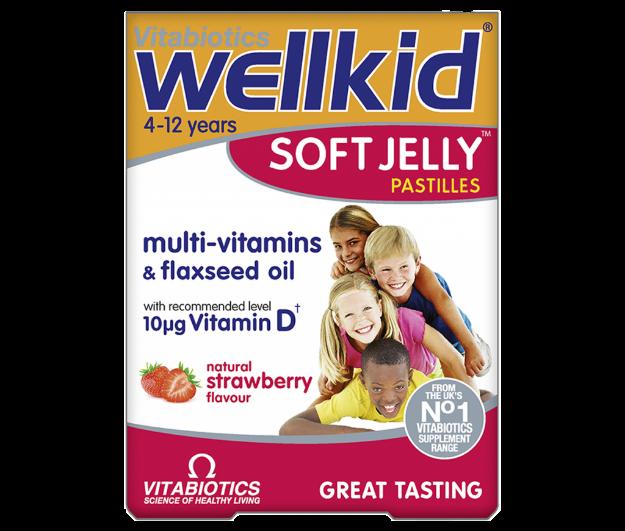 Picture of Vitabiotics Wellkids Soft Jelly