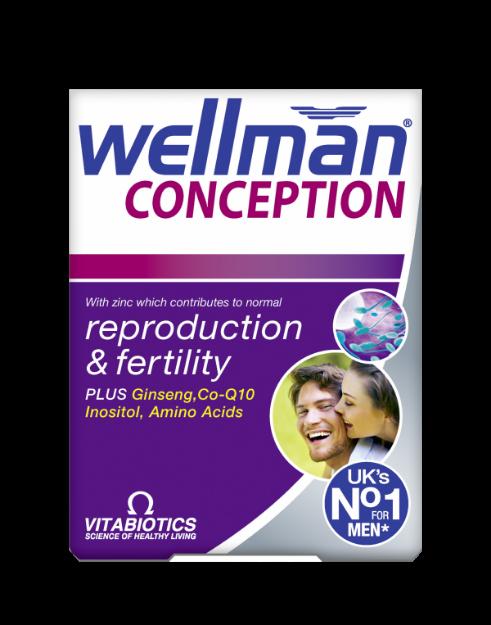 Picture of Vitabiotics Wellman Conception