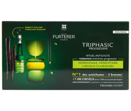 Picture of Rene Furterer Progressive Triphasic Ampoules