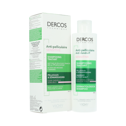 Picture of Dercos Anti Pelliculaire Sensitive Shampooing 200 ml