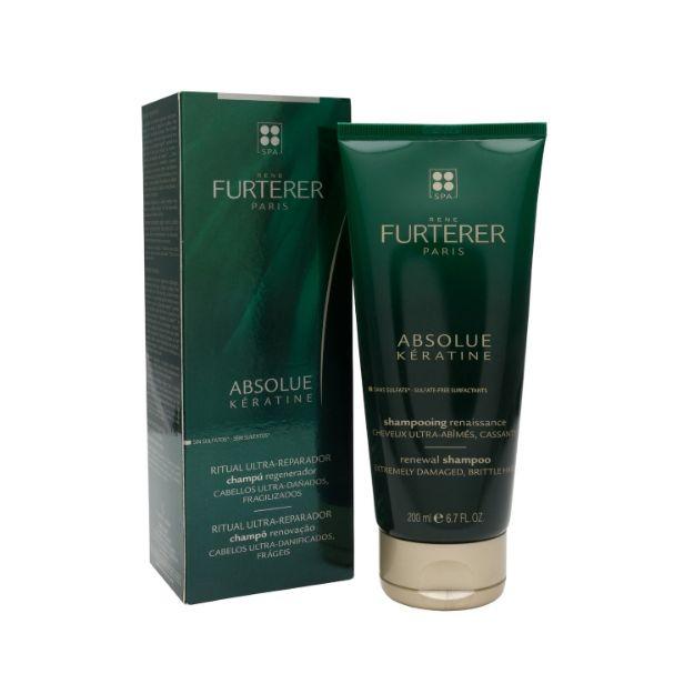 Picture of Rene Furterer Absolue Kératine Shampooing Renaissance  200 ml