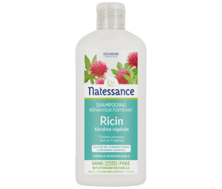 Picture of Natessance Soin Cheveux Shampooing Reparateur Ricin 250 ml