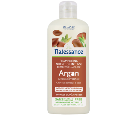 Picture of Natessance Soin Cheveux Shampooing Anti-Age Argan 250 ml