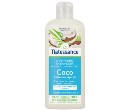 Picture of Natessance Soin Cheveux Shampooing Coco 250 ml