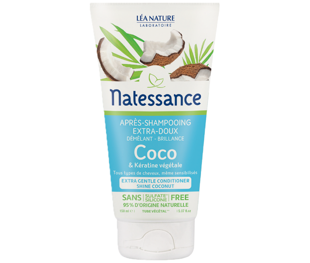 Picture of Natessance Soin Cheveux Après Shampooing Coco 150 ml