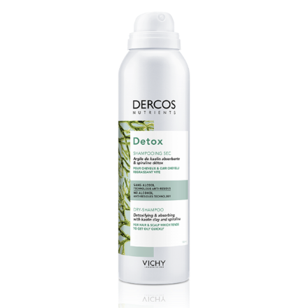 Picture of Dercos Detox Shampooing Sec Spray 150 ml