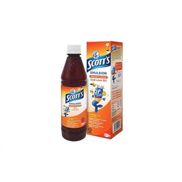 Picture of Scotts Emulsion Orange