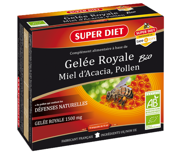 Picture of Super Diet Gelee Royal 1250 mg (Ampoules)