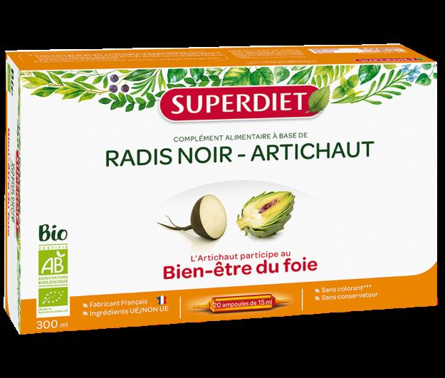 Picture of Super Diet Radis Noir & Antichaut Ampoules
