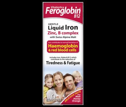 Picture of Vitabiotics Feroglobin Syrup 200 ml