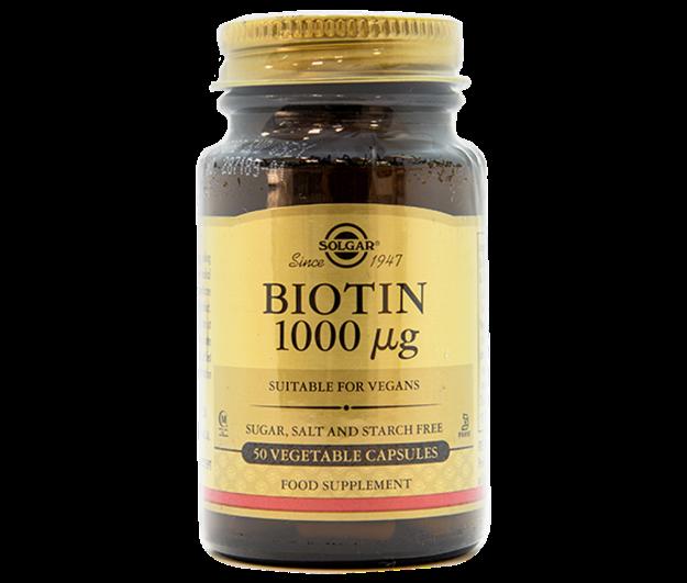Picture of Solgar Biotin 1 mg