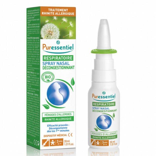Picture of Puressentiel Respiratoire Spray Nasal Decongestionnant