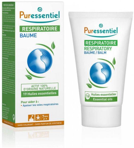 Picture of Puressentiel Respiratoire Baume Aux 19 HE