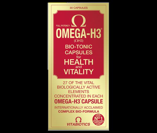 Picture of Vitabiotics Omega H3 Original