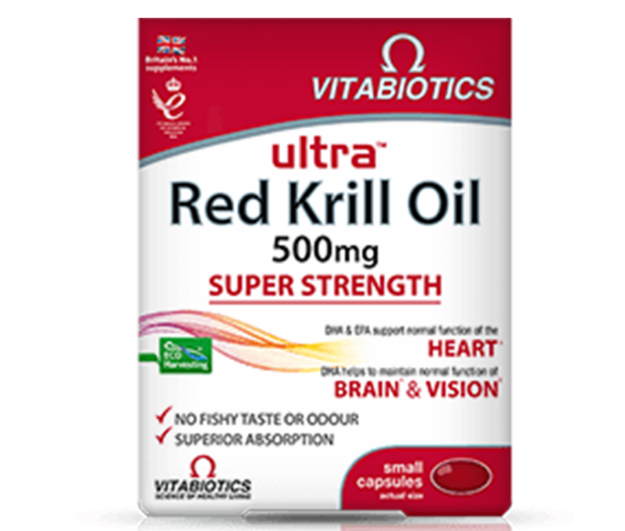 Picture of Vitabiotics Ultra Omega Krill Oil