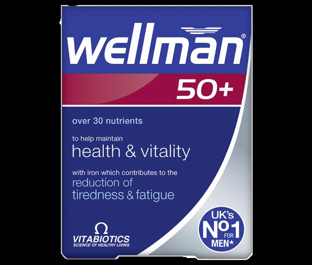 Picture of Vitabiotics Wellman 50+
