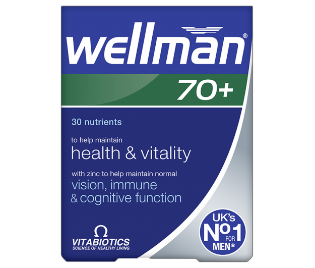 Picture of Vitabiotics Wellman 70+