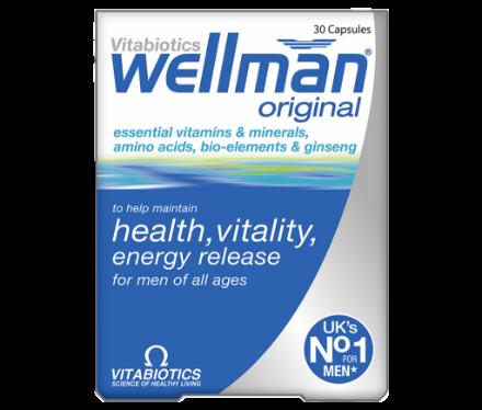 Picture of Vitabiotics Wellman
