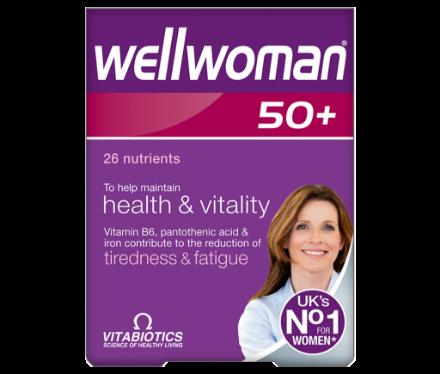 Picture of Vitabiotics Wellwoman 50+