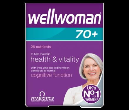 Picture of Vitabiotics Wellwoman 70+