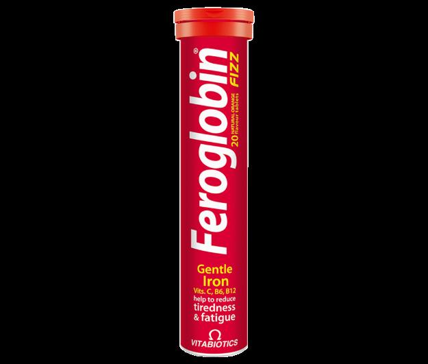 Picture of Vitabiotics Feroglobin Fizz Tabs