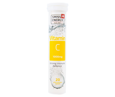 Picture of Swiss Energy Vitamin C 1000mg Tab Effervescent