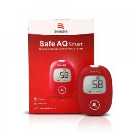 Picture of Sinocare Safe AQ  Blood Glucose Monitor Kit