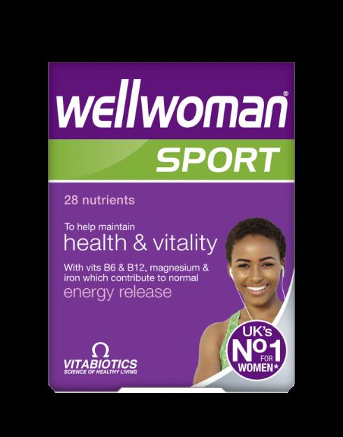 Picture of Vitabiotics Wellwoman Sport