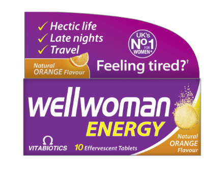 Picture of Vitabiotics Wellwoman Energy Effervescent