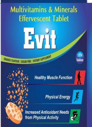 Picture of Evit Multivitamins & Minerals  Effervescent