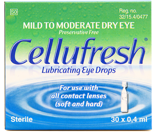 Picture of Cellufresh Eye Drops 0.4 ml