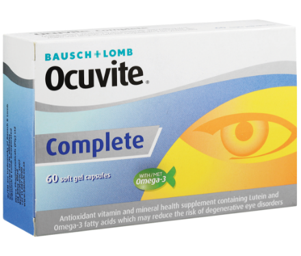 Picture of Ocuvite Complete Tablets