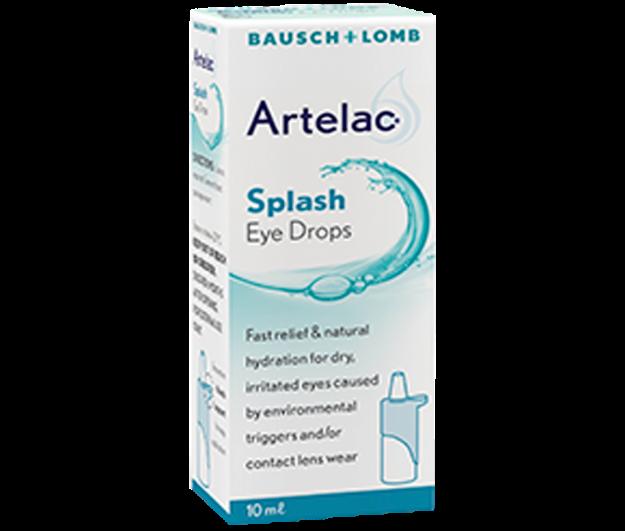 Picture of Artelac Splash Eye Drops 10 ml