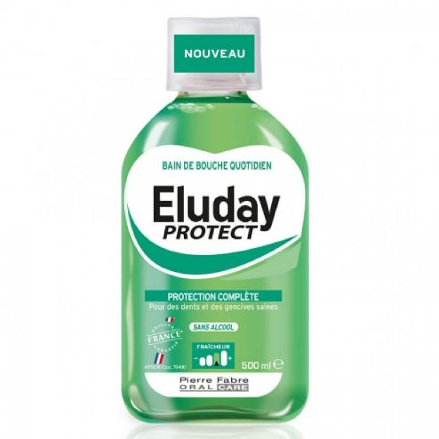 Picture of Eluday Protect Daily Mouthwash 500ml