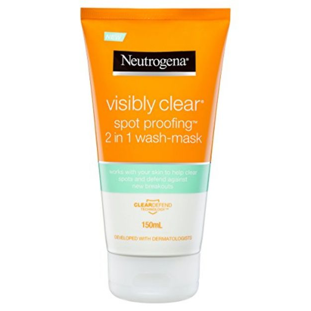 Picture of Neutrogena Clear Spot Proofing 2-in-1 Wash Mask 150 ml