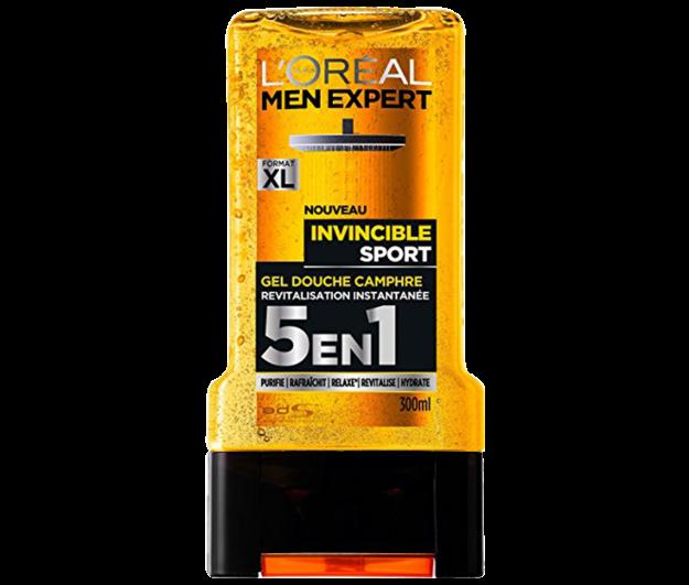 Picture of L'Oreal Men Expert Gel Douche Invincible Sport 5en1 300 ml