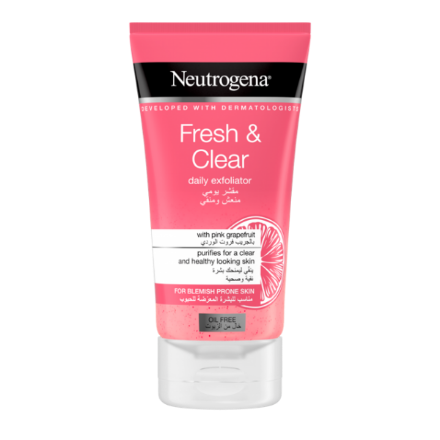 Picture of Neutrogena Visibly Clear Pink Grapefruits Scrub 150 ml