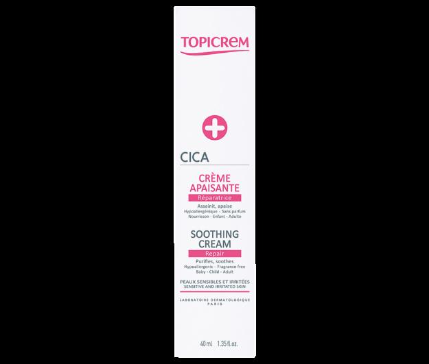 Picture of Topicrem Cica Crème Apaisante 40 ml