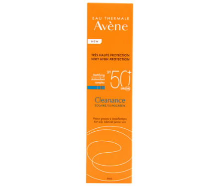 Picture of Avene Cleanance Solaire SPF50+ 50 ml